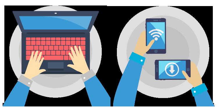 Interactie responsieve webdesign