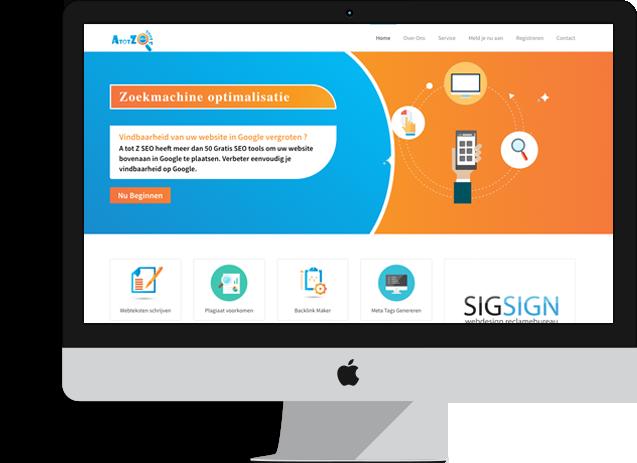 Responsive webdesign desktop
