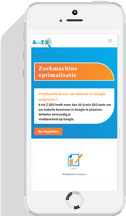 Responsive webdesign Mobiel